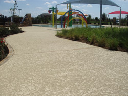 We add beauty to your concrete with decorative concrete in Dallas, TX